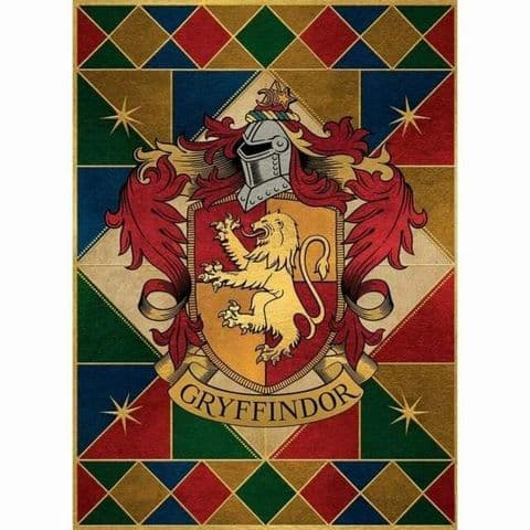 Harry Potter House Crest Cards - 4 Houses
